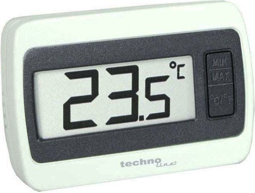 digitales Thermometer Test