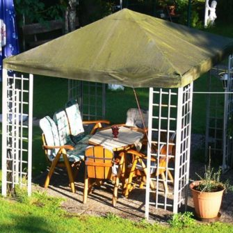 Pavillon aus Metall