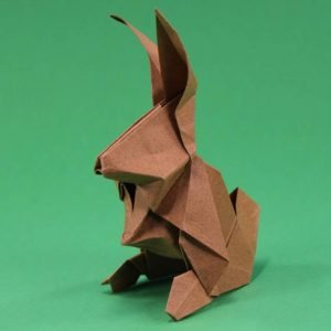 Origami Hase Anleitung