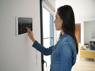 Smart Home Tablet Wand