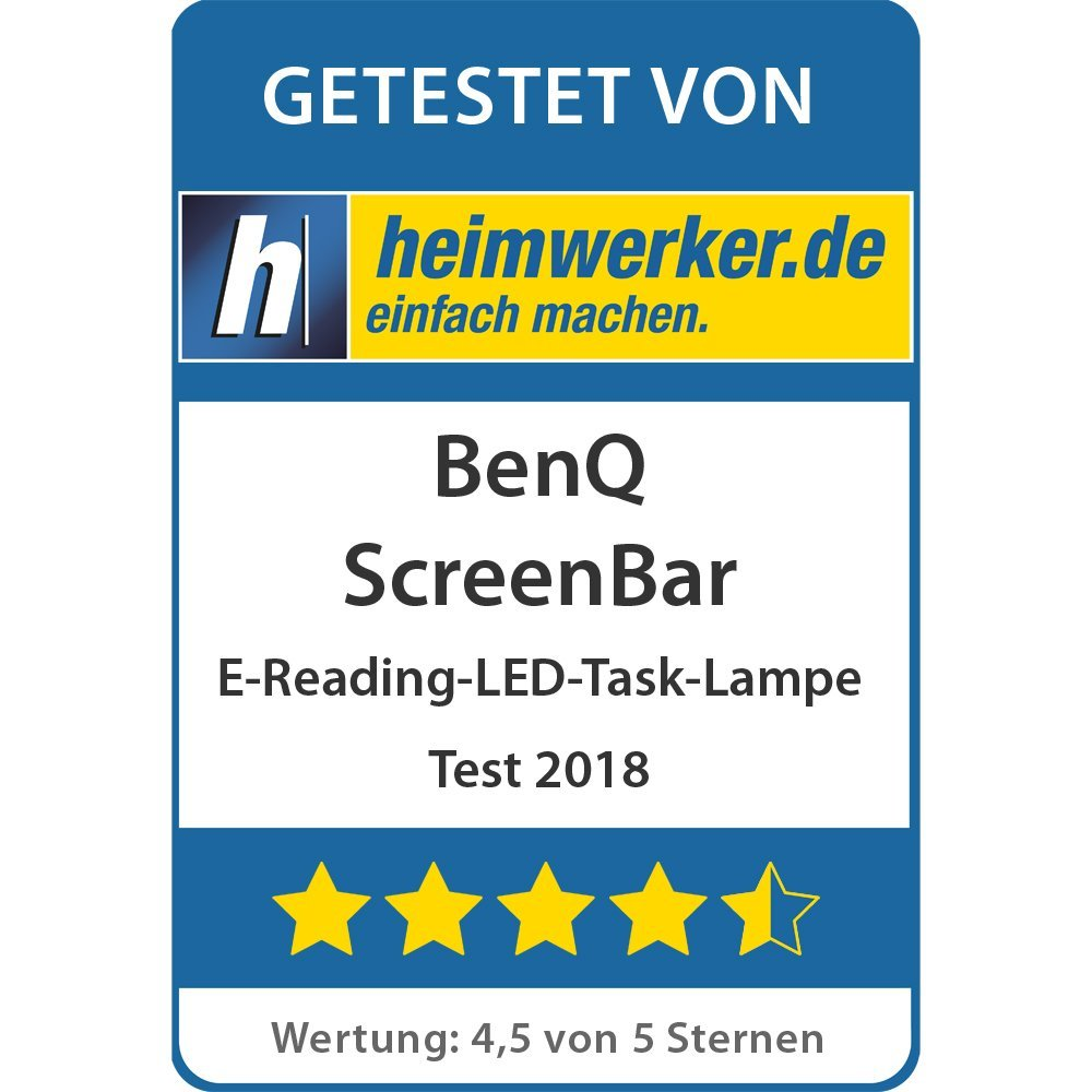 Test: BenQ ScreenBar e-Reading LED Task Lamp